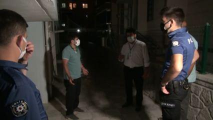 Kırıkkale'de bir aile annelerinin ölüm haberini alınca karantinayı deldi!