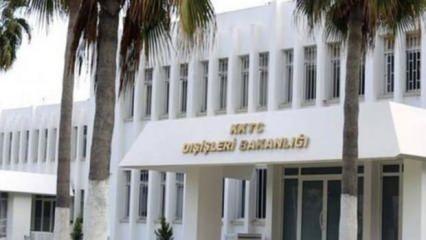KKTC'den BM'nin açıklamalarına sert tepki