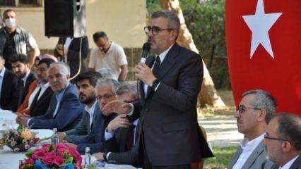 """Mahir Ünal """"Fondaş medya Türkiye'nin özgüvenine saldırıyor"""""""