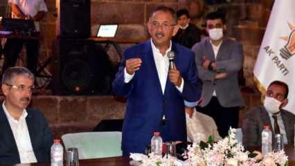 Mehmet Özhaseki: Evlatlarımızın katillerine bakanlık vermek için pazarlıklar yapıyorlar