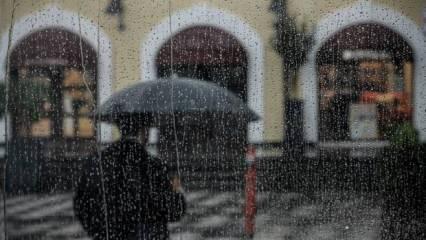 Son Dakika... Meteoroloji'den çok sayıda il için şiddetli yağış uyarısı