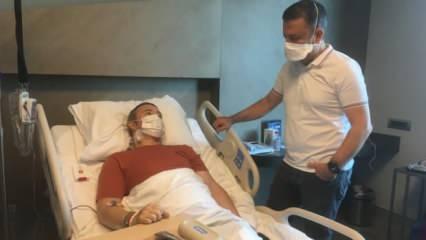 İrlandalı turist gelmem dediği Türkiye'de olduğu ameliyatla sağlığına kavuştu