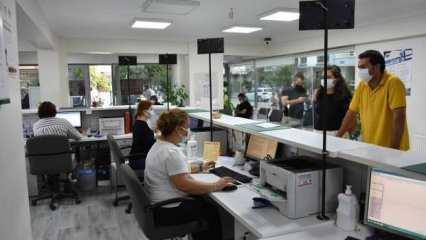 Noterliklerde 4 bin 328 işlem güvenli ödeme sistemi ile yapıldı