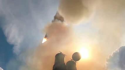 Rusya S-500'leri işte böyle ateşledi