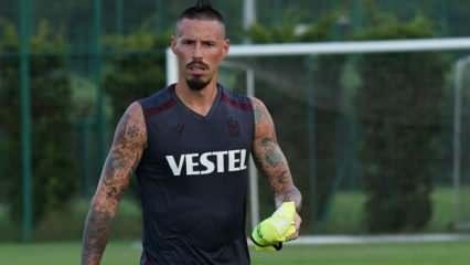 Trabzonspor'da Hamsik parmak ısırttı
