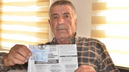 Kahramanmaraş'ta bir çiftçi kimliğini kaybetti, kabusu oldu!