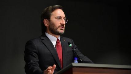 Fahrettin Altun: Yalan haberlerle 'toplumsal fay hatlarını' tetiklemeyi amaçlıyorlar