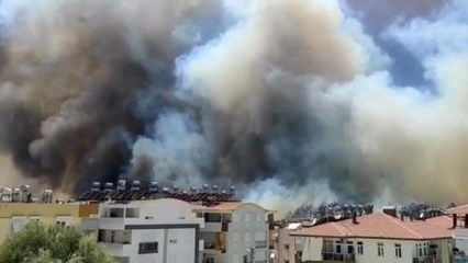 Manavgat'ta büyük yangın! Felaket yaşanıyor! Korkutan haberler peş peşe: 5 ilde daha yangın çıktı