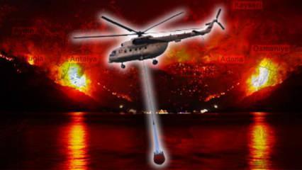 EFFIS raporu: Türkiye orman yangınlarıyla mücadelede ilk sırada