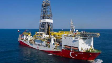 Fatih sondaj gemisi, Türkali-4'te sondaja başladı
