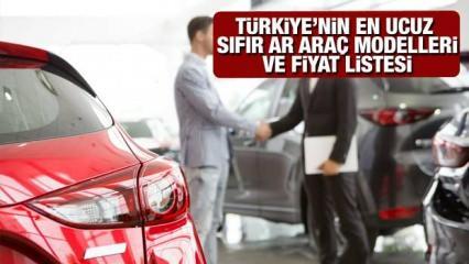 200 Bin TL altı 2021 model sıfır araç modelleri: Hyundai Opel Dacia Fiat Renault Citroen Peugeot