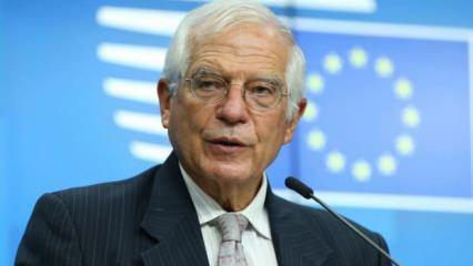 Josep Borrell'den, Türkiye'ye destek mesajı!