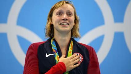 Kathleen Ledecky'den olimpiyat rekoru