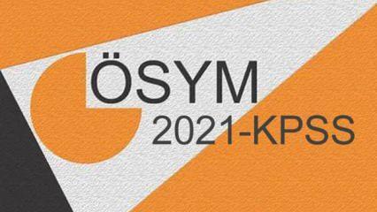 KPSS sonuçları ne zaman açıklanacak? ÖSYM 2021 KPSS Genel Yetenek-Genel Kültür ve Eğitim Bilimleri...