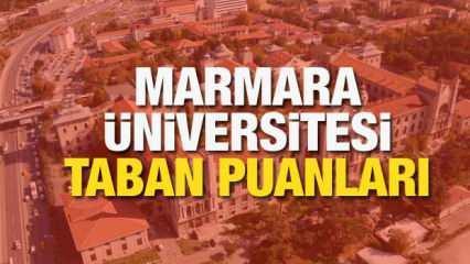 Marmara Üniversitesi taban puanları! Lisans ve ön lisans bölümleri sıralamaları ve kontenjanları 2021!