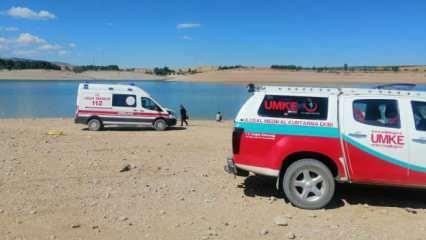 Kayseri'de serinlemek için baraja giren 3 kız kayboldu