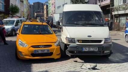 Şişli'de 'yol verme' kavgası: Taksici tartıştığı sürücüyü bacağından vurdu!