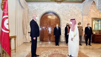 Suudi Arabistan'dan Tunus Cumhurbaşkanı'na tam destek