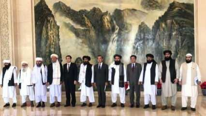Taliban'dan Çin'de üst düzey görüşme! Çin'e güvence verdiler