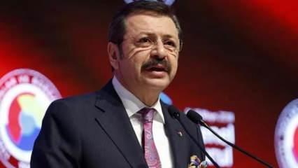 TOBB Başkanı Hisarcıklıoğlu: Kurun artması reel sektörü tedirgin ediyor