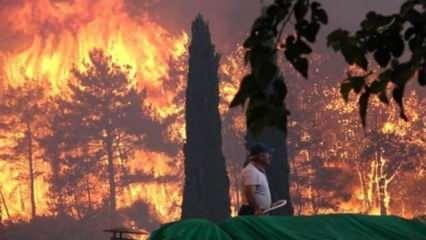 Meteoroloji'den yangın bölgeleri için uyarı