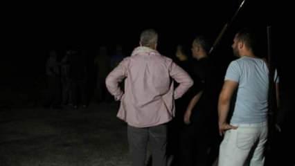 Manavgat'ta hareketli gece! Yangın tekrar başlayınca silahını alan ormana koştu