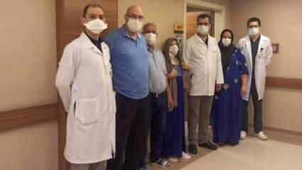 Kuzey Irak'tan tedavi için Gaziantep'e geldi, geçirdiği operasyonla sağlığına kavuştu