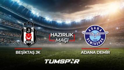 Adana Demirspor Beşiktaş maçı ne zaman saat kaçta hangi kanalda? Adana BJK maçı 11'leri!