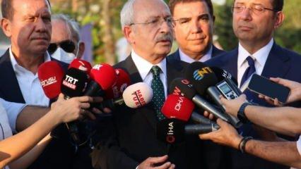 Kılıçdaroğlu 11 büyükşehir belediye başkanı ile THK'yı ziyarete gitti
