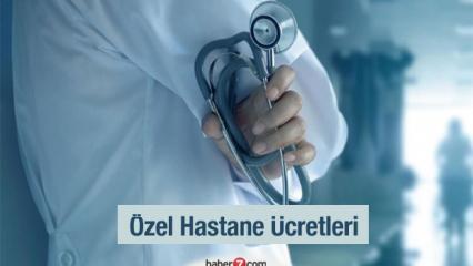 Özel Hastane Muayene Ücretleri 2021: SGK anlaşmalı hastanelerde doktor, ameliyat ve doğum ücreti..