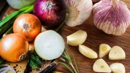 Sarımsak ve soğan kürü nasıl yapılır? Sarımsak ve soğanın faydaları nelerdir?