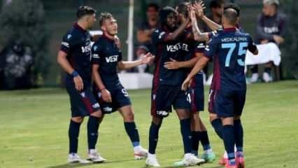 Trabzonspor - Molde! İlk 11'ler