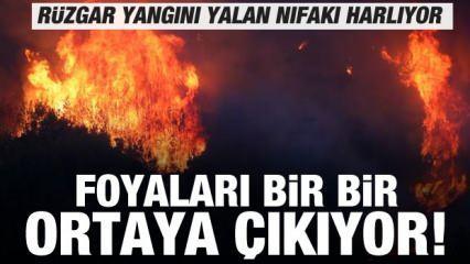 Türkiye yangınlarla mücadele ediyor! Yalan rüzgârı ise nifakı harlıyor