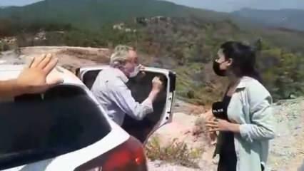 Ülke TV muhabirine saldırıya AK Partili vekilden sert tepki: Planları bozuldu
