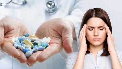 Uzmanlar uyardı: Aşırı ağrı kesici kullanımı baş ağrısına neden oluyor