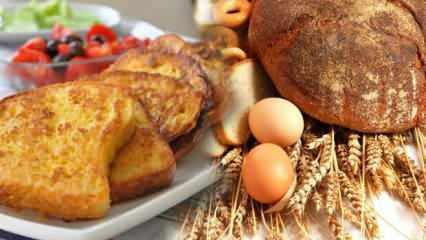 Yumurtalı ekmek nasıl yapılır? Fırında yumurtalı ekmek tarifi...