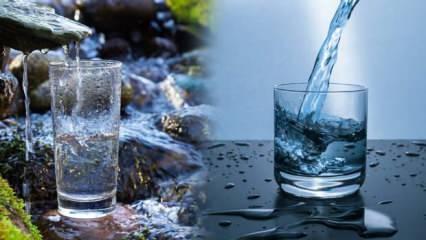 Sağlıklı su en düşük 7.4 ph değere sahip olmalı