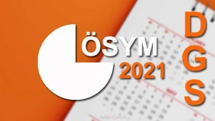 DGS sonuçları ne zaman açıklanacak? ÖSYM 2021 takvimini duyurdu! Dikey Geçiş yapacaklar dikkat...