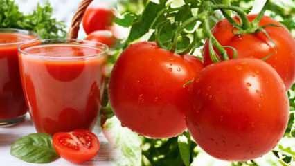 Domates suyu faydaları nelerdir? Çiğ domates suyu nasıl hazırlanır?