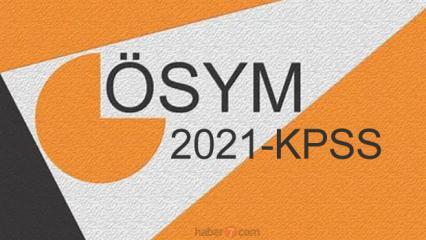 KPSS A Grubu sınav sonuçları ne zaman açıklanacak? ÖSYM 2021 sınav sonuç takvimi!