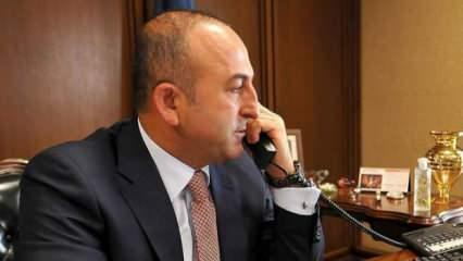 Bakan Çavuşoğlu, Katarlı mevkidaşı ile görüştü