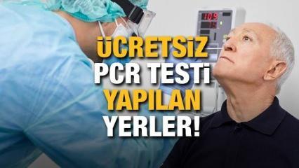 PCR testi ücretsiz yapılıyor mu? Kimler ücretsiz PCR testi yaptırabilir? İşte PCR testi yapılan yerler