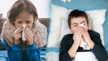 Çocuklarda üst solunum yolu enfeksiyonuna dikkat!