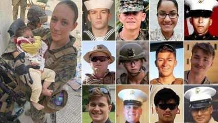 Kabil'de ölen 13 ABD askerinin isimleri ve fotoğrafları yayınlandı
