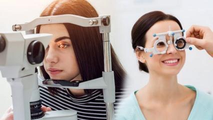 Göz muayenesi tansiyon, diyabet gibi pek çok hastalığın habercisi olabiliyor