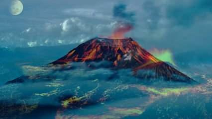 Rüyada yanardağ görmek nasıl ne demek? Rüyada yanardağ patlaması görmek neye işaret?