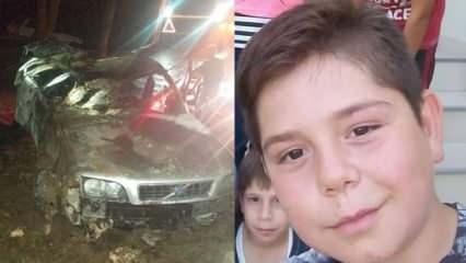 16 yaşındaki lise öğrencisi otomobille ağaca çarpıp takla attı! Yanarak hayatını kaybetti