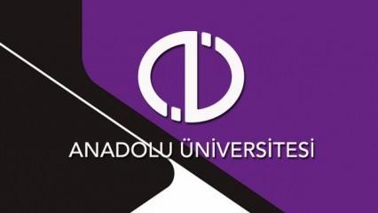 AÖF kayıt yenileme ne zaman? Anadolu Üniversitesi 2021-2021 takvimini yayınladı!