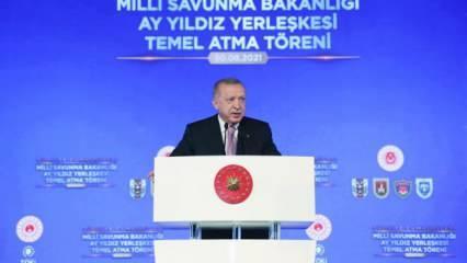 Başkan Erdoğan: Duruşuyla düşmana korku, dosta güven verecek