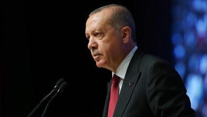 Başkan Erdoğan'dan Yeni Pazar Başkonsolosluğunun açılış töreninde önemli mesajlar